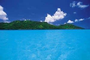 eaux tuquoise huahine manahee
