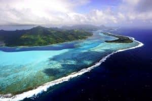 barrière corail huahine manahee